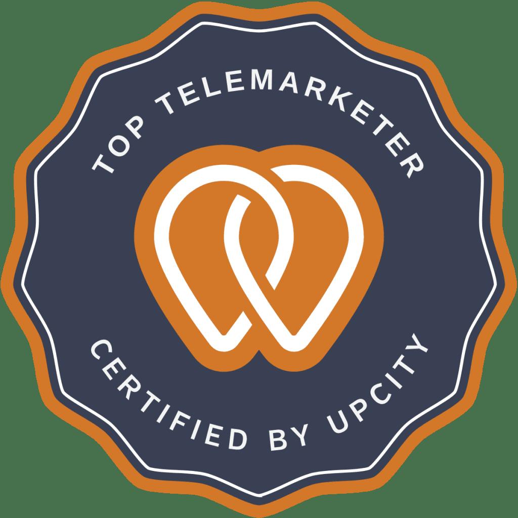upcity top telemarketer
